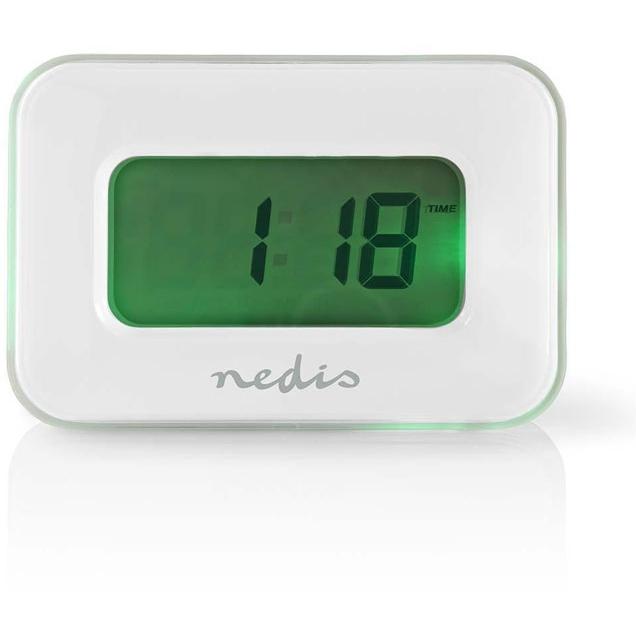 bb5662cd85 Cosmomarket NEDIS CLAL110WT Digital Alarm Clock