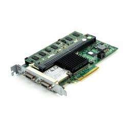 55f86b166ff DELL used Raid controller PCI-E PERC 6/E 512MB SAS 6G J155FB